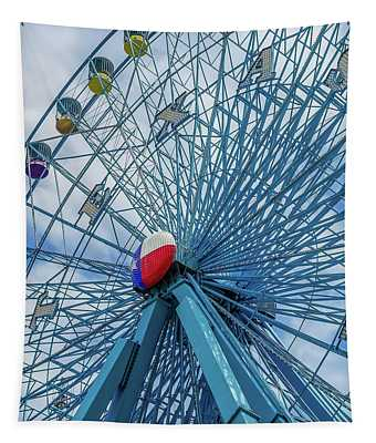 The Texas Star, State Fair Of Texas Tapestry