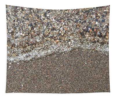 The Texture Of The Aegean Sea Water Tapestry