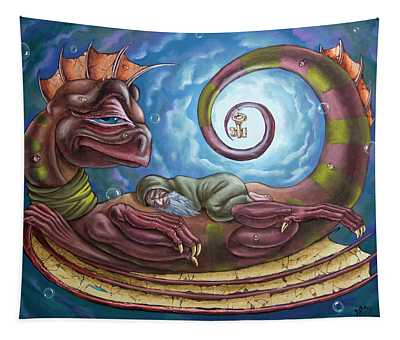 The Third Dream Of A Celestial Dragon Tapestry
