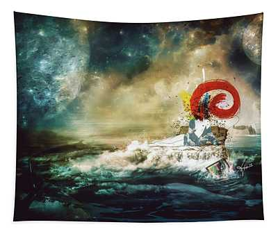 The Traffic Of The Whales Tapestry
