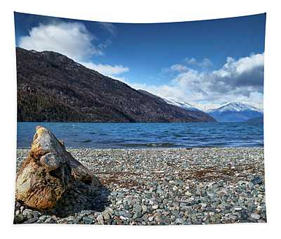 The Puelo Lake In The Argentine Patagonia Tapestry