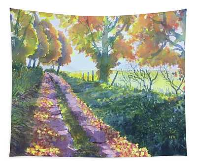 The Tunnel In Autumn Tapestry