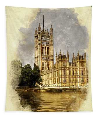 The Victoria Tower, London Tapestry