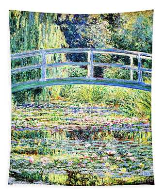 The Water Lily Pond By Monet Tapestry