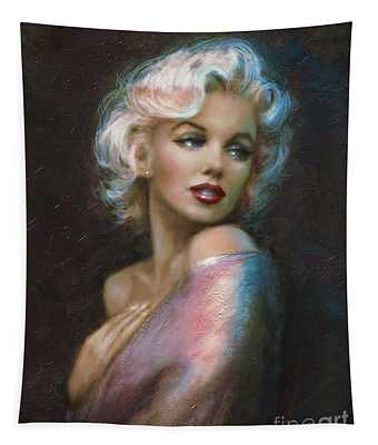 Theo's Marilyn Ww Blue Tapestry