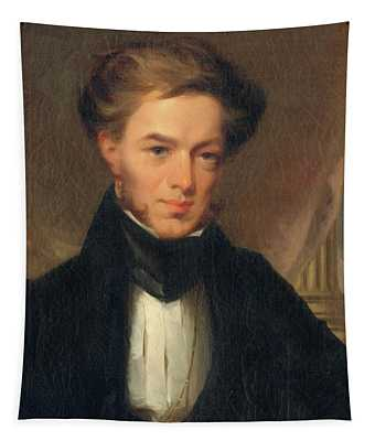 Portrait Of Thomas Ustick Walter, 1835 Tapestry