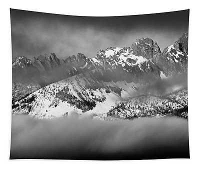 Thompson Peak Sawtooth Range Early Morning Tapestry
