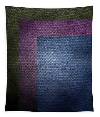 Three Color Abstract Harmony Art 2 Tapestry