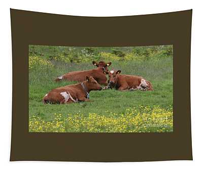 Three Cows Tapestry