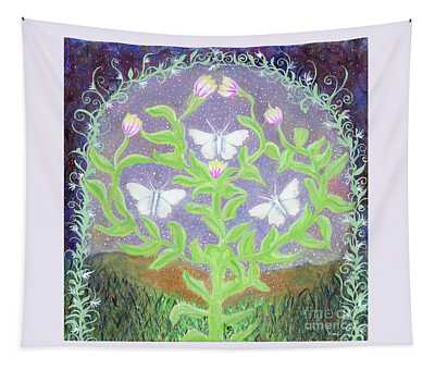 Three Signs Of Luck In The Air Tapestry
