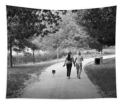 Threes A Company Tapestry