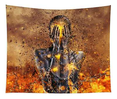 Through Ashes Rise Tapestry