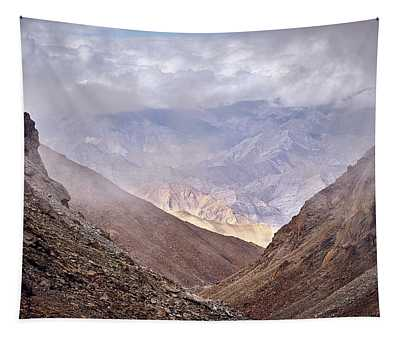 Tapestry featuring the photograph Through The Valley by Whitney Goodey