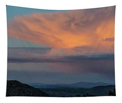 Thunder Over Joshua Tree Tapestry