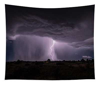 Thunderstorm #4 Tapestry