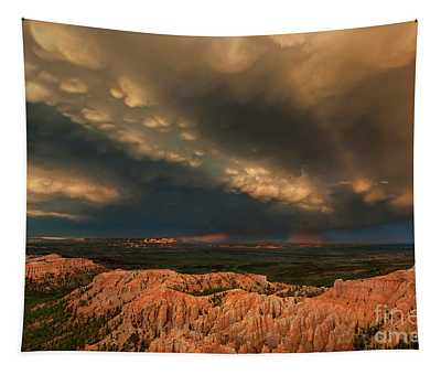 Thunderstorm Bryce Canyon National Park Utah Tapestry