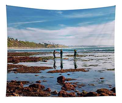 Tide Poolers Tapestry