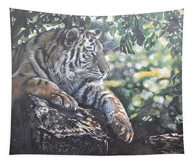 Shady Tiger Tapestry