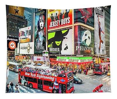 Times Square II Special Edition Tapestry