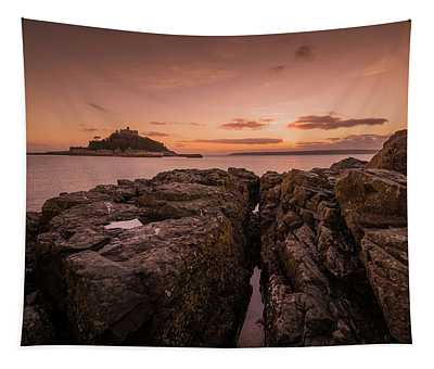To The Sunset - Marazion Cornwall Tapestry