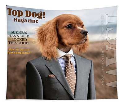 Top Dog Magazine Tapestry