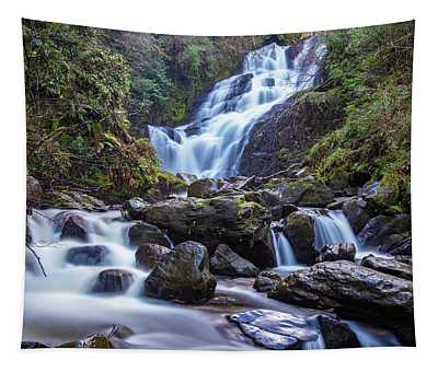 Torc Waterfall Killarney National Park 2 Tapestry