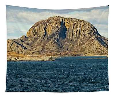 Torghatten Mountain Norway Tapestry
