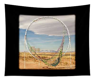 Torn Iconic Dreamcatcher Tapestry