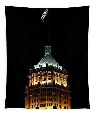 Tower Life Building Tapestry