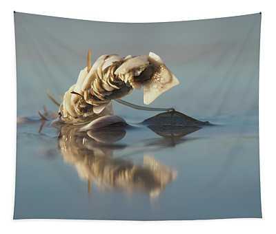 Tower Shell Monster Tapestry