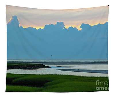 Towering Clouds Tapestry