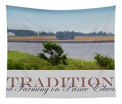 Tradition Fishing And Farming Tapestry