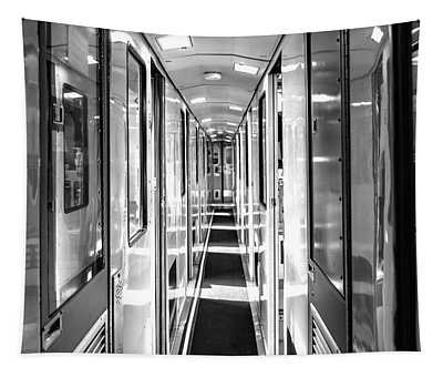 Train Corridor Tapestry