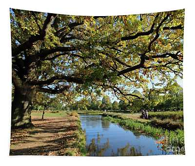 Tranquility Beside The Stream Tapestry