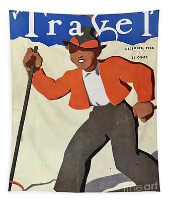 Travel 1936 Tapestry