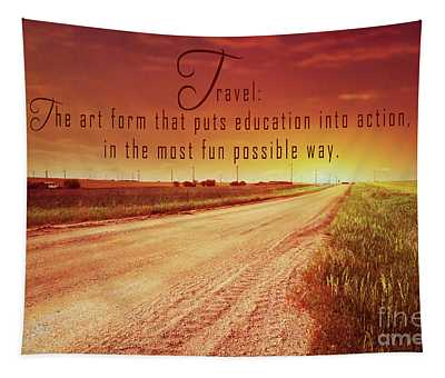 Travel Defined 2 Tapestry