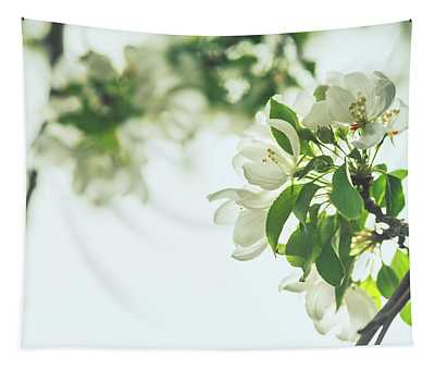 Tree Blossoms Tapestry