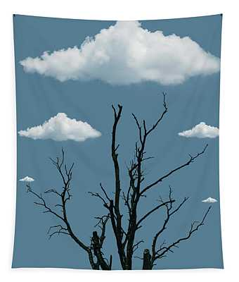 Tree In The Clouds Tapestry