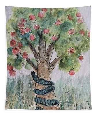 Tree Of Knowledge Tapestry