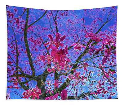 peek into the Tree Of Passion - Fuel My Soul v7 Tapestry