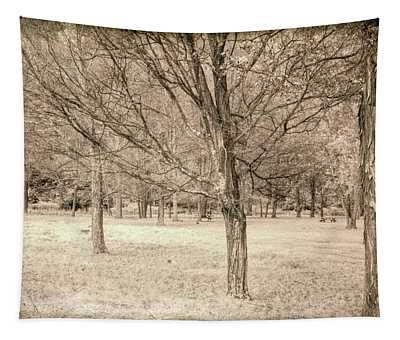 Trees In A Row Tapestry
