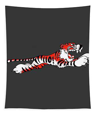 Triumph Tiger Phone Case Tapestry