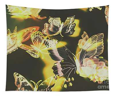 Tropical Glow Tapestry