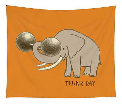 Trunk Day Tapestry
