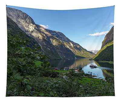 Tufte, Naerofjord, Norway Tapestry