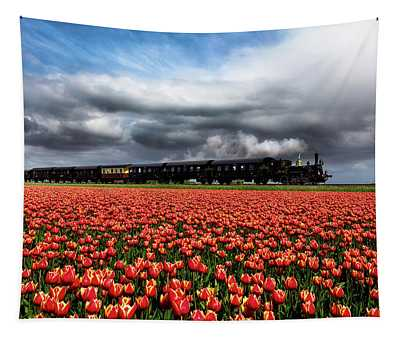 Tulip Express Tapestry