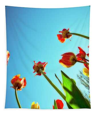 Tulips Holland Michigan 913 Tapestry