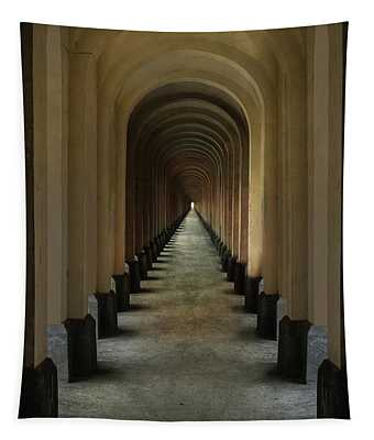 Tunnel Of Arches Tapestry
