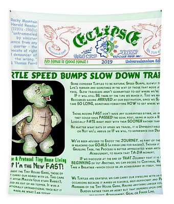 Turtle Speed Bumps Tapestry