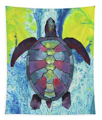 Turtle Way Tapestry